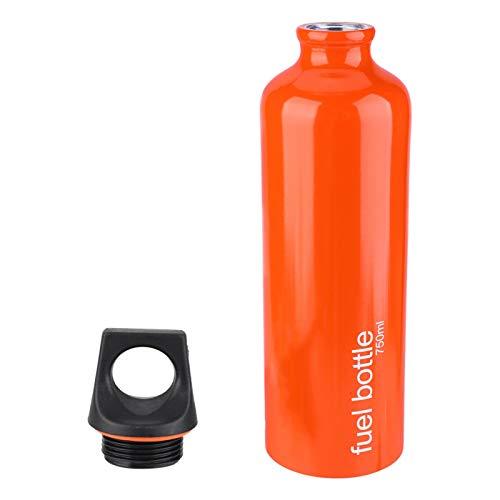 Cocosity Botella de Combustible para Exteriores, Recipiente de Aceite Combustible Botella de Almacenamiento de Combustible, Tanque de Estufa de Gas Recipientes de Aceite de 750 ml Botella de