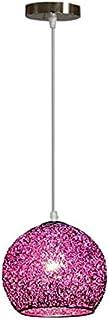 Coding Lustre moderne nordique en fil d'aluminium - Suspension de fée - Plafonnier suspendu pour salon, cuisine, table à m...