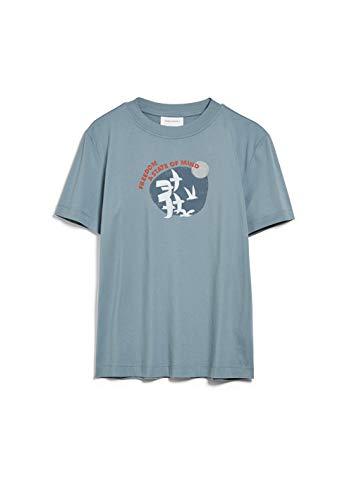 ARMEDANGELS MIAA Freedom - Damen T-Shirt aus Bio-Baumwolle S Soft Moss Shirts T-Shirt Loose fit