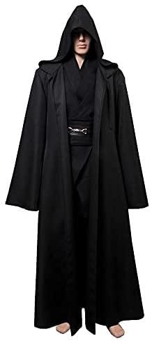 Fuman Kenobi Jedi Tunic Cosplay Disfraz Jedi para adultos y hombres