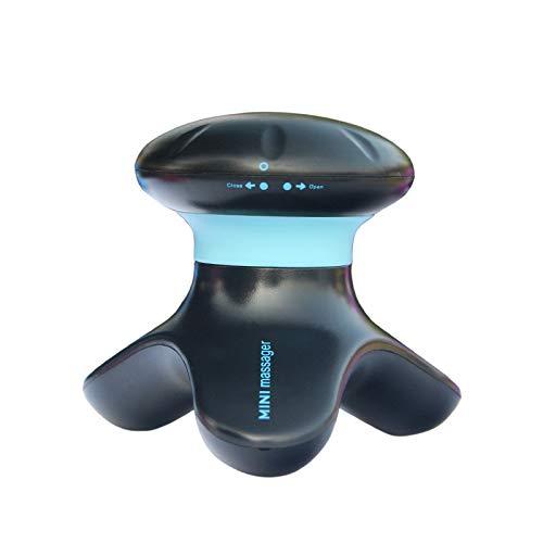 Masajeador Cervical Mini Vibrador Cabeza Eléctrica Cuero Cabelludo Cuello Masajeador Facial Vibración Cuerpo Masaje Vibratorio Celulitis Masajeador De Manos Inteligente