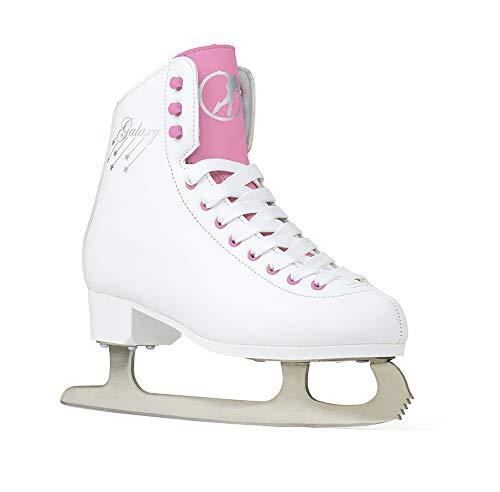 SFR Galaxy Retro Schlittschuhe weiß-pink Mädchen White/Pink, 39.5