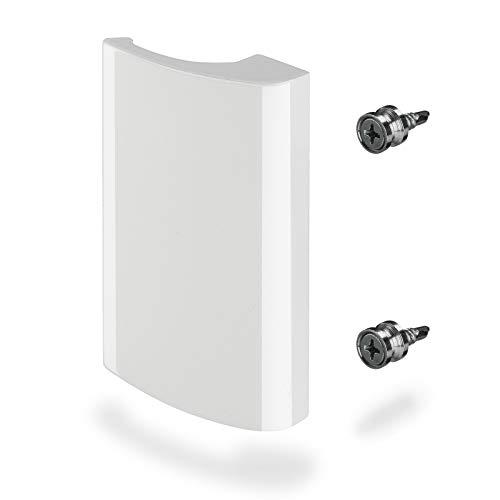 Maniglia per Porta Finestra SEJA Alluminio / 82 x 52 x 20 mm/bianco Maniglia per Porta Scorrevole di SO-TECH®