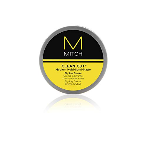 Paul Mitchell Men by Paul Mitchell Mitch Clean Cut Medium Hold/Semi-Matte Styling Cream