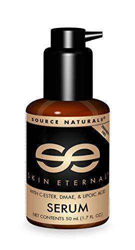 Source Naturals Skin Eternal Serum - Moisturizing Lotion with - 1.7 Fluid oz
