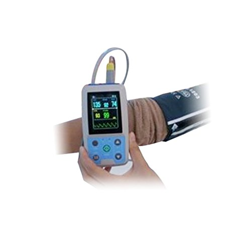 Nibp Monitor 24hour Ambulatory Blood Pressure Monitor Holter Abpm50+3 Pcs Cuffs for Adlut/Child/Infant