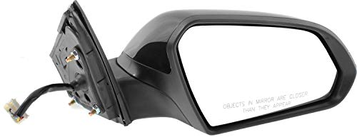 Mirror Compatible For 2015-2017 Hyundai Sonata Right Passenger Heated Power Glass In-housing Signal Light Paintable