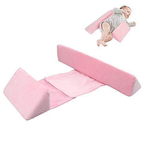 Almohada de diseño para bebés, Almohada triangular para bebés Almohada para dormir...