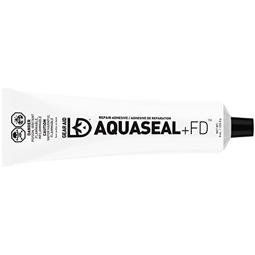 Gear Aid Aquaseal FD Flexible Repair Adhesive for Outdoor Gear and Vinyl, Clear Glue, 8 oz
