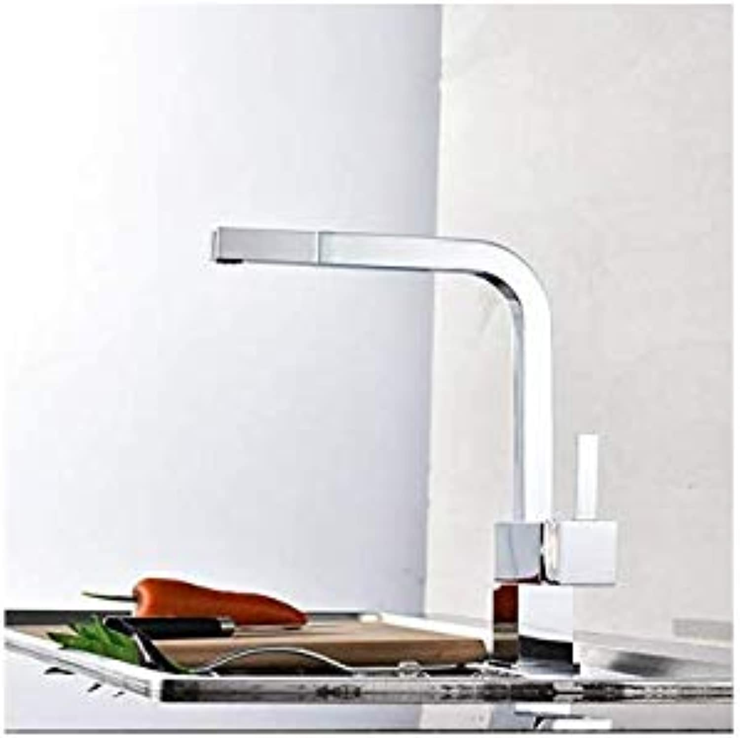 Water Taptaps Faucet Kitchen Sink Dish Basin Copper Pull Hot and Cold Dish Kitchen Faucet redatable Sink Faucet Mixing Valve Faucet