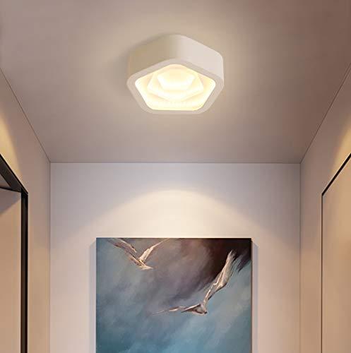 HIL leidde ganglichter, eenvoudig modern huis balkon plafondlamp, lamp dimbaar kunst naar huis entree trap studie balkon plafond Warm/Light A