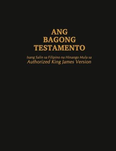 Filipino (Tagalog) KJV New Testament (Large Print) (Tagalog Edition)