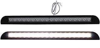 12 Volt LED buitenlamp deur warm wit caravan camper boot 480 mm zwart