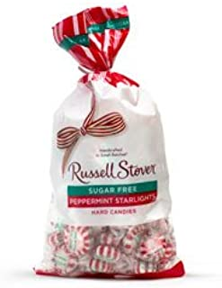 Russell Stover Sugar Free Peppermint Hard Candies, 12 oz. Bag