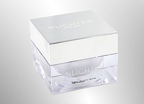 NWORLD NLIGHTEN EYE GEL naturally helps reduce puffiness and helps brighten dark circles.