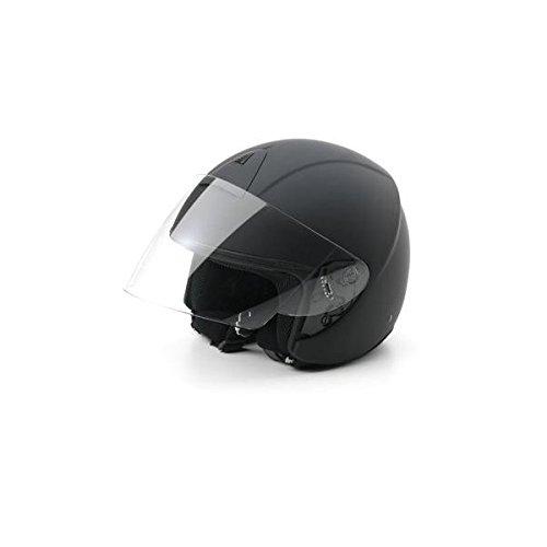 Bottari Motorradhelm Ergon, Rubber Black, Größe M