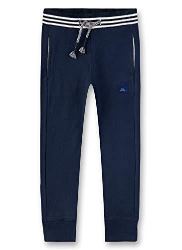 Sanetta Jungen Sweatpants Hose, Blau (Shadow Blue 582), (Herstellergröße: 104)