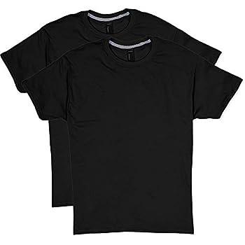 Hanes Men s 2 Pack X-Temp Performance T-Shirt Black XX-Large