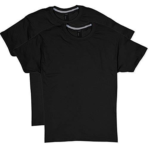 Hanes Men's 2 Pack X-Temp Performance T-Shirt, Black, X-Large