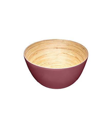 Secret de Gourmet - Saladier bambou prune 17cm