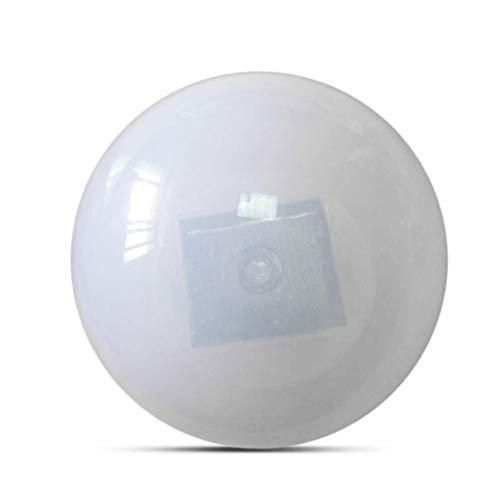 ZFFLYH Schwimmende LED-Leuchten, Solarbetriebene LED-Kugel Schwimmnachtlicht Im Freien wasserdichte Bunten Pool Dekoration Licht,White Light