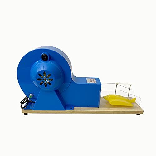 TWY Principio de elevación de aeronaves Modelo demostrador Principio de elevación de alas Experimentador de demostración de Modelo de túnel de Viento pequeño, Instrumento de Experimento de física
