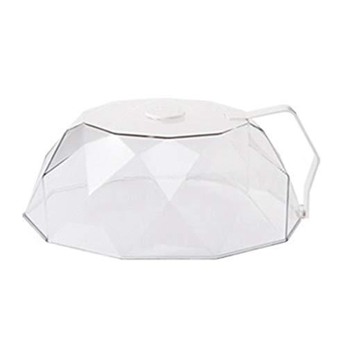 SODIAL Cubierta de Microondas de Cocina Cubierta de Aislamiento de CalefaccióN Cubierta Accesorios de Cocina a Prueba de Polvo y Aceite Cubierta para Microondas A