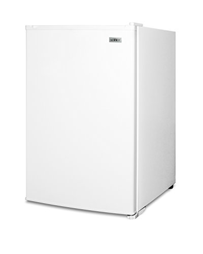 """Summit FS603 22"""" Compact Upright Freezer with 5 cu. ft. Capacity Adjustable Thermostat Wire Shelves and Manual Defrost in"""