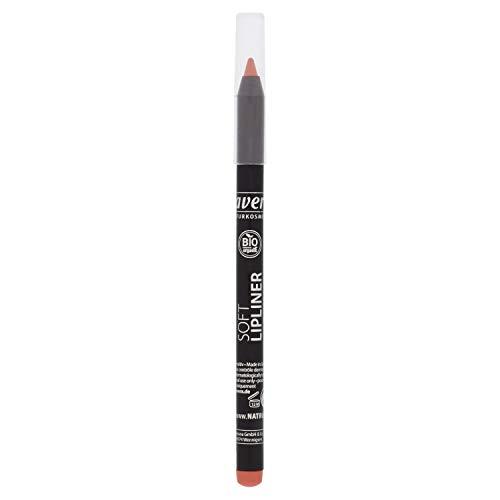 lavera Soft Lipliner -Rose 01- Crayon à lèvres ∙ Texture durable ∙ Bases de Maquillage pour les Lèvres Cosmétiques naturels Make up Ingrédients végétaux bio 100% Naturel Maquillage (1.4 g)