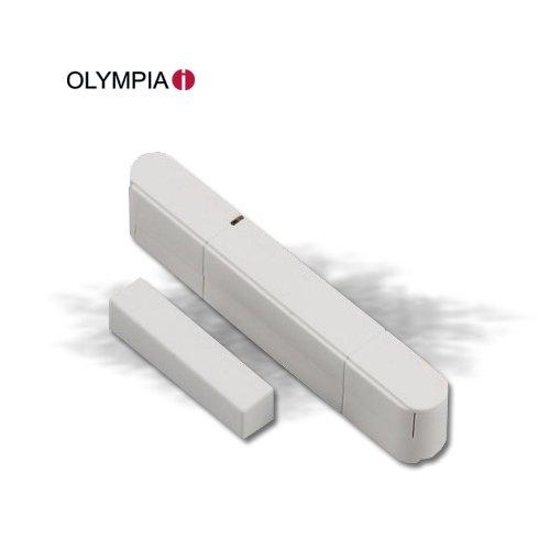 [5X-BI5W-614H] Tür-/ Fensterkontakt (3 Stück) für Olympia Protect 5080 Alarmanlage plug&play