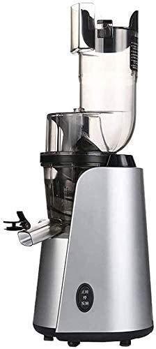 Exprimidor eléctrico, exprimidor de masticación Lenta con función de separación de Jugo...