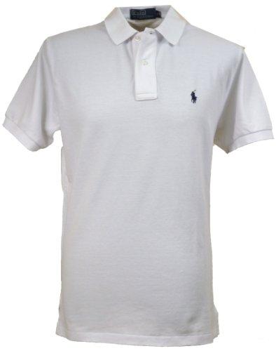 Ralph Lauren Herren Polo Poloshirt Figurbetont von Ralph Lauren Size: M / WHITE