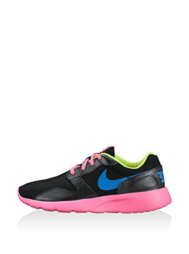 Nike Aishi (GS), Scarpe da Corsa Bambina, Nero/Fucsia, 35.5 EU
