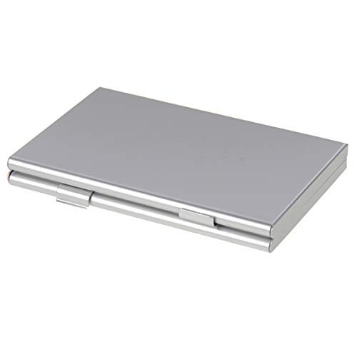 Custodia per Schede di Memoria SD Micro SD Premium in Lega di Alluminio 15 in 1 - Fino a 3 Schede SD e 12 MicroSD - Ideale per il Trasporto e la Protezione in Viaggio o per Uso Casalingo