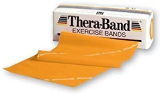 Gold/Max Thera-Band Exercise Bands, 6 Yd Disp Box