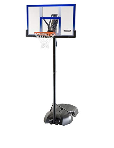 LIFETIME 90000 - Canasta baloncesto resistente altura regulable 240/305 cm UV100