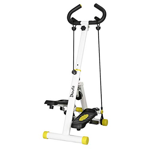 Doufit Stepper for Exercise Machine, ST-01 Foldable Stair...