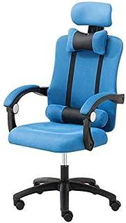 Chaise de jeu MHIBAX chaise d'ordinateur chaise de bureau à domicile, repose-pieds ergonomique inclinable, chaise de to...