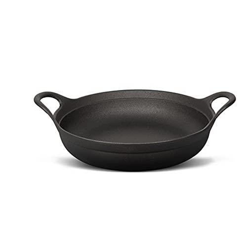 Binaural Wok, Sartén Antiadherente Para El Hogar, Sartén Sin Recubrimiento, Sartén De Hierro, 28/32/36cm,36cm