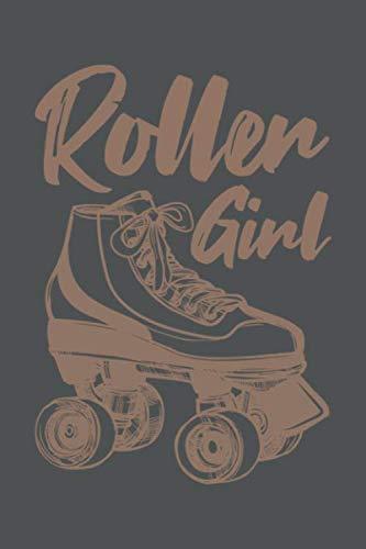 Roller Girl: Rollschuhe Geschenk Für Skater Girl Dina5 Kariert Notizbuch Tagebuch Planer Notizblock Kladde Journal Strazze