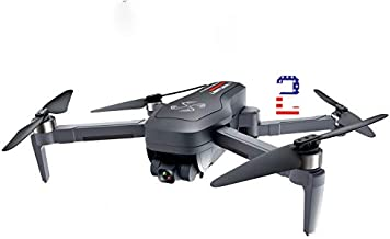 DRONE-CLONE XPERTS - Drone X Pro Limitless 2 with USA Patriotic Design, GPS Auto RTH, WiFi FPV, 4K UHD Dual Camera with Gimbal, Brushless Motors, Follow Me, 25 Mins Flight Time, Long Range Quadcopter