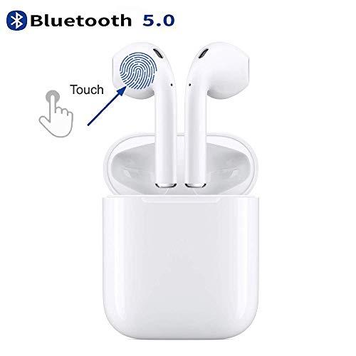 ♬【Bluetooth 5.0 Migliorato&Facile associazione】le cuffie si collegheranno tra loro automaticamente all'accensione dopodiché mancherà solo un passaggio per associarli al telefono. L'ultimissimo Bluetooth 5.0 migliorato fornisce: maggiore velocità, più...