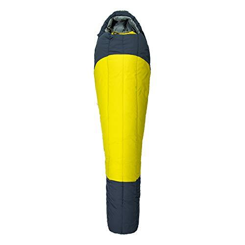 Millet - Syntek 0°C Reg - Erwachsenenschlafsack mit Aufbewahrungsbeutel - Synthetisch - Komforttemperatur 5°C - Länge: 210 cm - Marineblau/Anisgrün