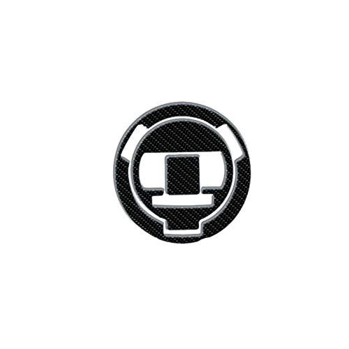 Protector para Depósito para B-M-W F700GS F700 GS Aventura Motocicleta Fibra De Carbono Emblema Emblema De Combustible Transporte Pad Pegatina Protectora (Color : B)