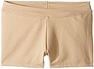 カペジオ Capezio Kids キッズ 女の子 ショーツ ハーフパンツ Nude Team Basic Boycut Low Rise Shorts ([並行輸入品]