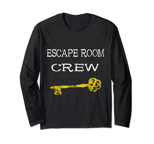 Escape Room Équipe Exit Room Joueur Escouade Manche Longue