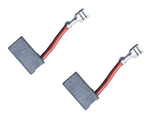 Carbon Motor Brushes Compatible for Dewalt DW718 / DWS780 / DW717 Miter Saw, Replacement Part for Power Tools - 2 Pack