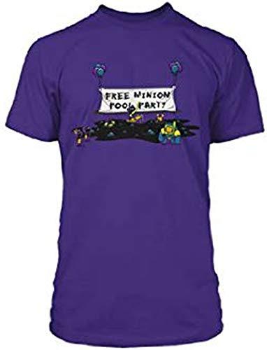 League of Legends Morgana - Camiseta de Manga Corta para Fiesta en la Piscina, Color Morado Morado Morado (60