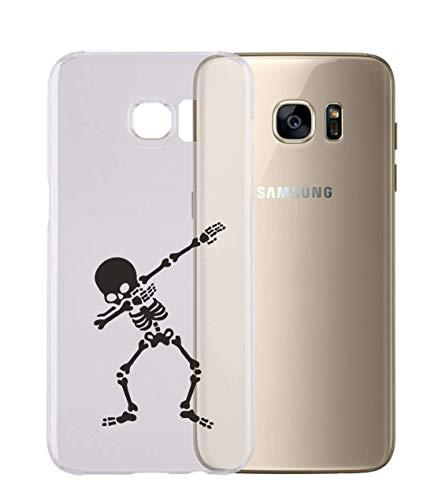 Cover per Tutti Gli Smartphone Samsung s4 s5 s6 s7 s8 + Note 4 Note 5 - Dab con Protezione della Fotocamera Custodia Trasparente Ultra Sottile