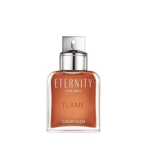 Calvin Klein Eternity Flame For Men, Agua de tocador spray para hombres, 50 ml